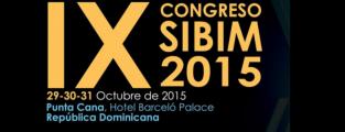 IX CONGRESO SIBIM 2015. Ciudad de Punta Cana – República Dominicana