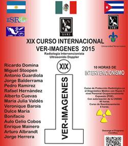 XIX Curso Internacional  VER-IMÁGENES 2015