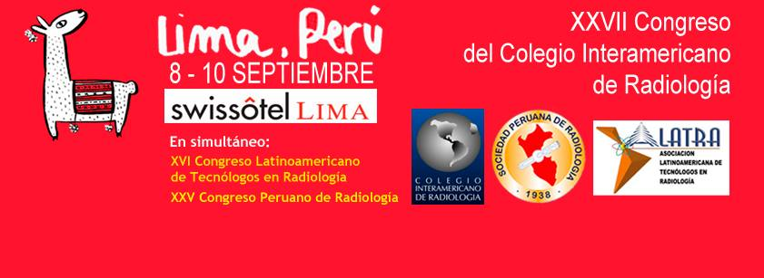 ¿Ya reservaste tu inscripción? XXVII Congreso CIR 2016, Lima – Perú