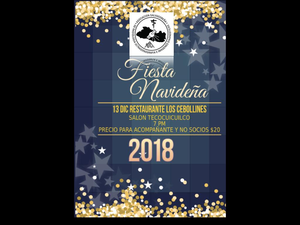 ASRUID te invita a la Fiesta Navideña y Fin de Año! Reserva la fecha…Te esperamos